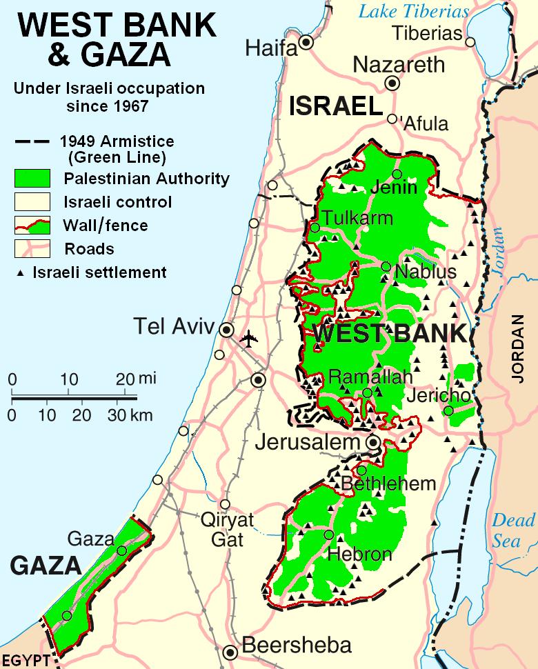 ガザを軸としたパレスチナ問題を三次元で考える