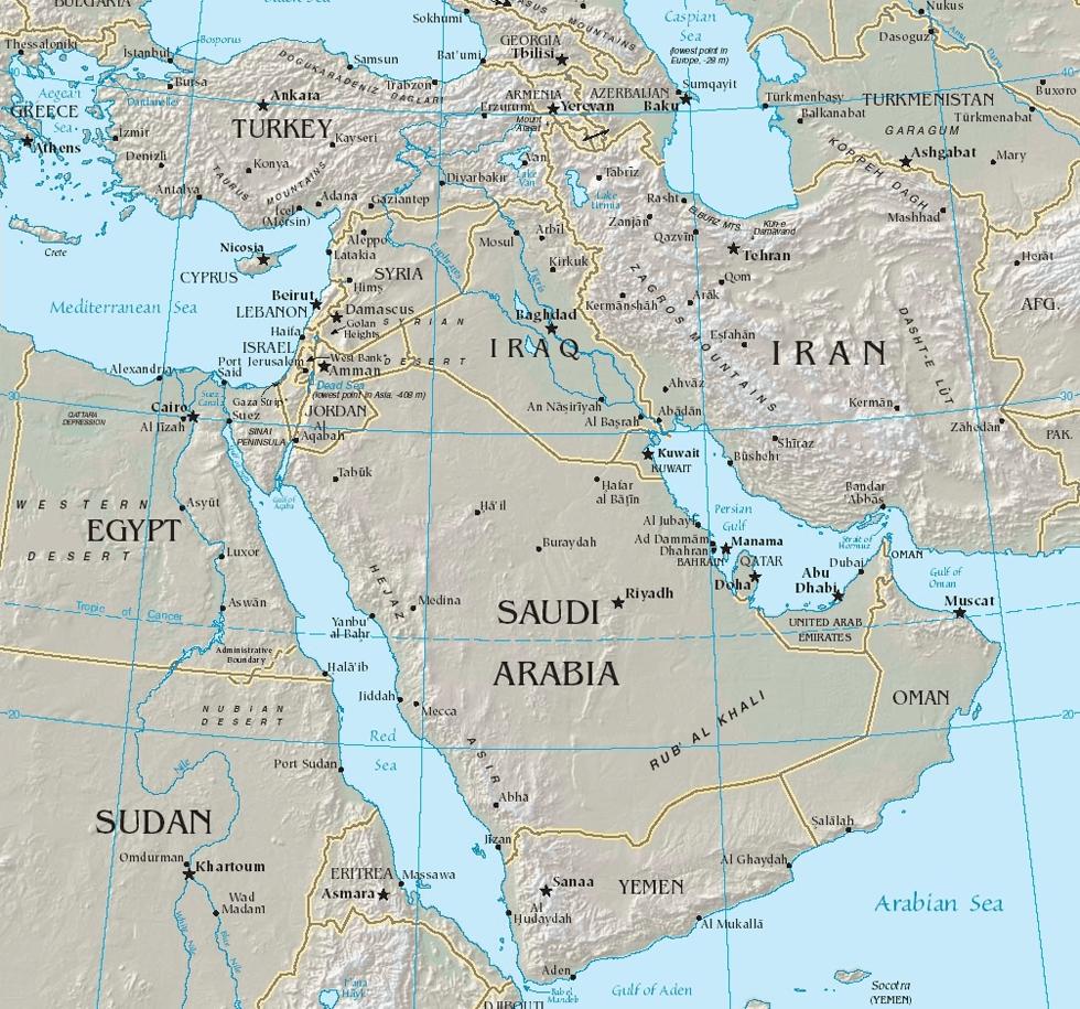 友にして敵なのか、敵にして友なのか―中東の複雑性